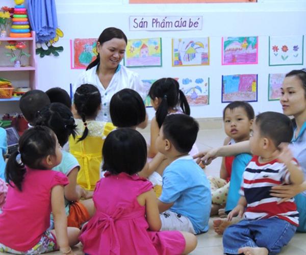 TPHCM: Giáo viên mầm non có trình độ Thạc sĩ được hỗ trợ 18 triệu đồng/năm 1