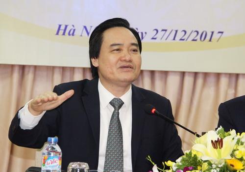 """Bộ trưởng Bộ GD-ĐT Phùng Xuân Nhạ """"Đã đến lúc ngành sư phạm chấm dứt đào tạo ra không sử dụng"""" 2"""