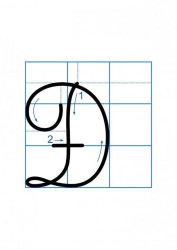 Tải bản mềm bộ mẫu chữ thường và chữ hoa cao 2,5 ô ly dành cho học sinh tiểu học 9