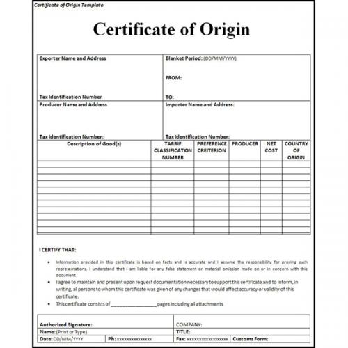 CO CQ là gì trong XNK hàng hóa? Và quy trình đăng ký CO ? 6