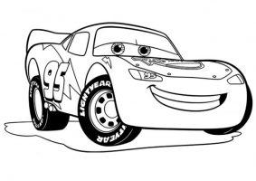 Download tranh tô màu ô tô đen trắng cho bé tập tô màu kích thích sáng tạo 5