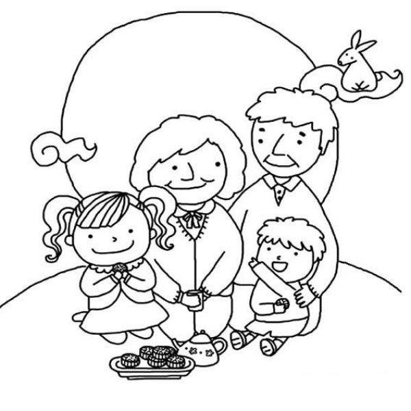 Download tranh tô màu rằm trung thu ngày tết của bé mẫu giáo 4 tuổi 7