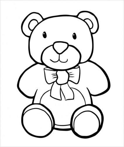 Tải tranh tô màu cho bé 3 tuổi chủ đề động vật phát triển tư duy sáng tạo 43