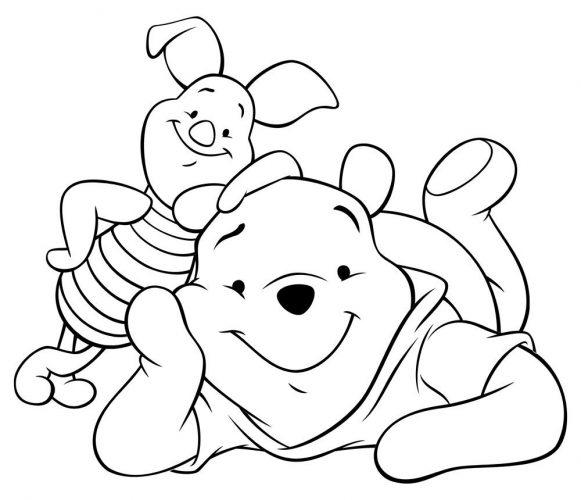 Tải tranh tô màu cho bé 3 tuổi chủ đề động vật phát triển tư duy sáng tạo 54