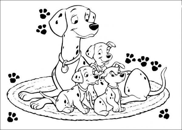 Tải tranh tô màu cho bé 3 tuổi chủ đề động vật phát triển tư duy sáng tạo 53