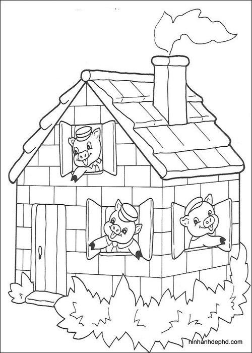 Download 40 tranh tô màu cho bé 3 tuổi mới tập tô 36