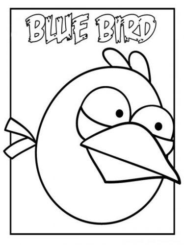 Download tranh tô màu con vật cho bé 2-5 tuổi 60