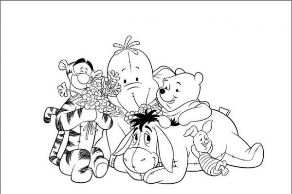 Download tranh tô màu con vật cho bé 2-5 tuổi 62