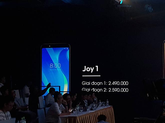 Vsmart ra mắt 4 smartphone Vsmart Active 1+, Vsmart Active 1, Vsmart Joy 1+ và Vsmart Joy 1 giá từ 2,5 đến 6,3 triệu đồng 12