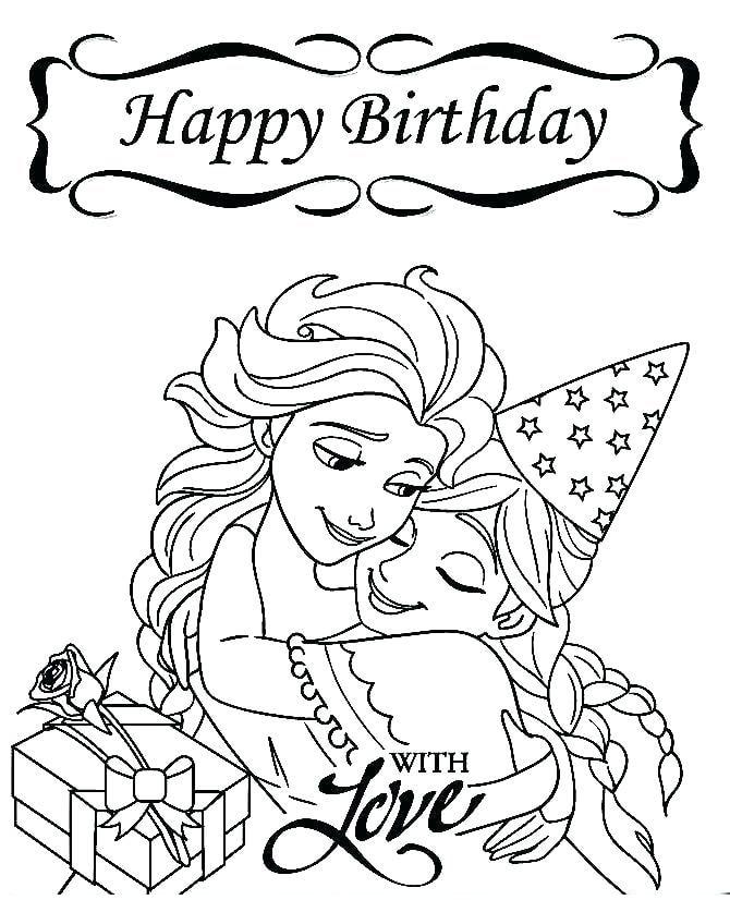 Tải 21 hình ảnh tranh tô màu công chúa Elsa và Anna 60