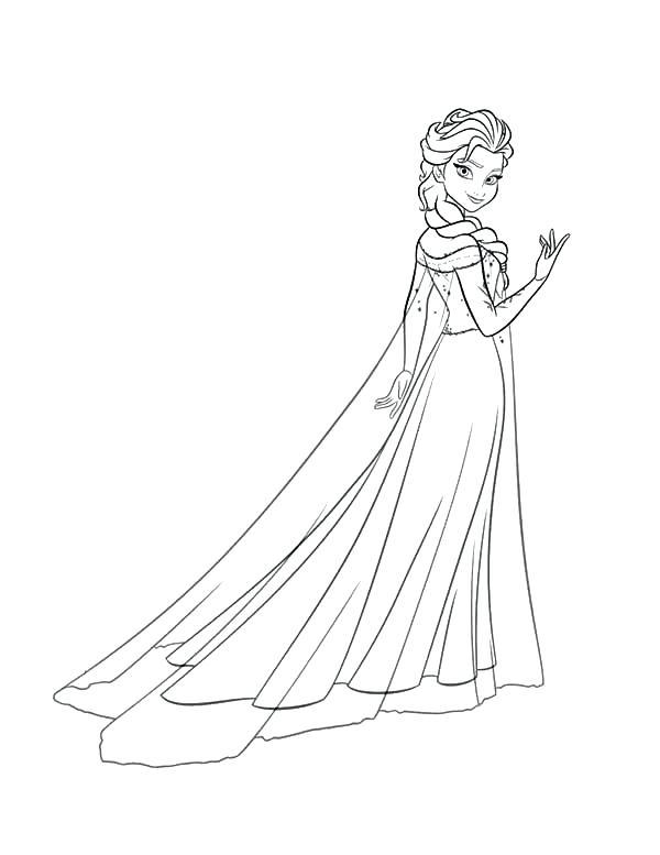 Tải 21 hình ảnh tranh tô màu công chúa Elsa và Anna 46