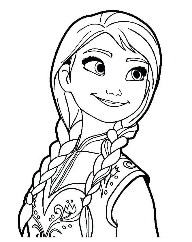 Tải 21 hình ảnh tranh tô màu công chúa Elsa và Anna 49
