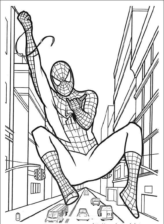 Download tải tranh tô màu siêu nhân superman, người nhện, robot tăng cường cá tính cho bé trai 7