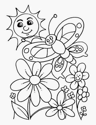 Bộ tranh tô màu hình các loài hoa đầy màu sắc 18