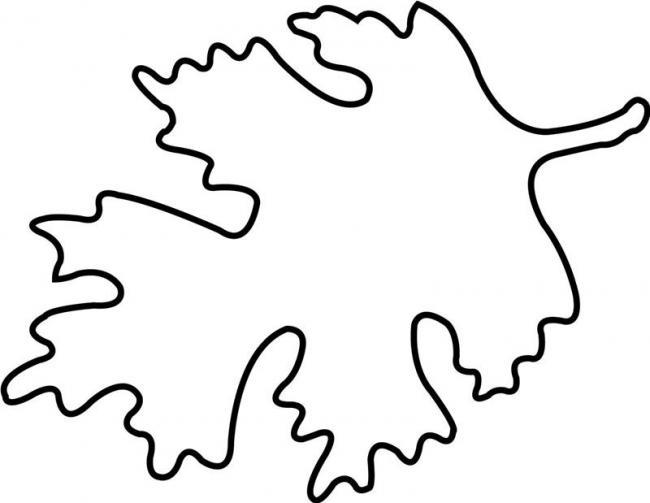 Bộ tranh tô màu lá cây dành cho bé tập tô làm quen nét 7