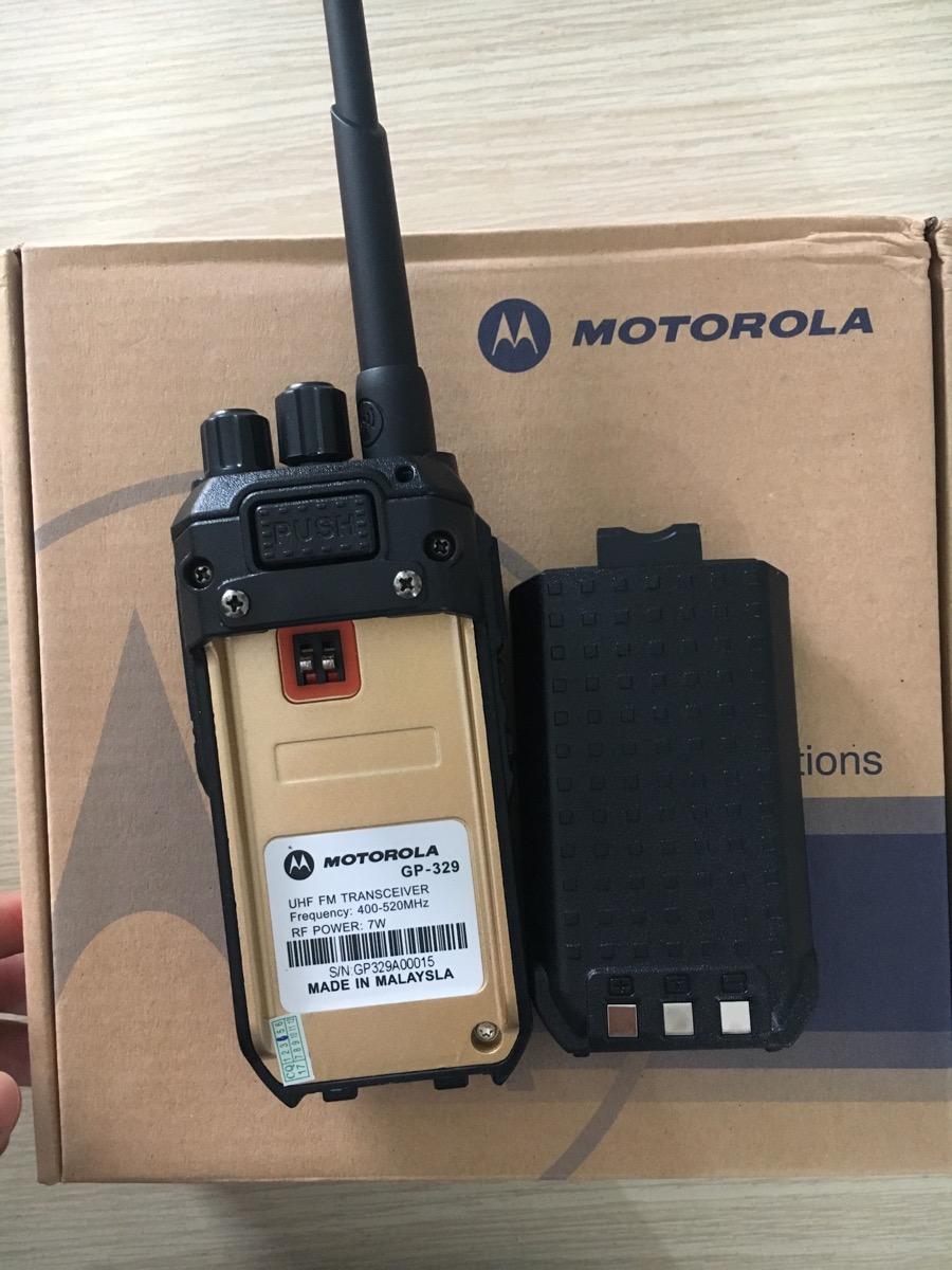 Máy bộ đàm Motorola nào tốt nhất hiện nay 6