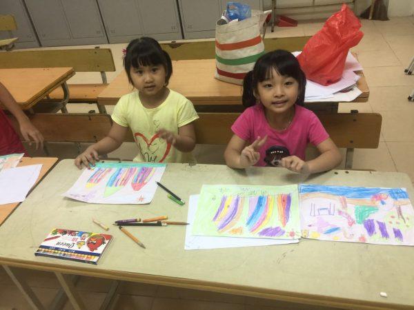 Lớp học vẽ cho bé ở Long Biên uy tín 23