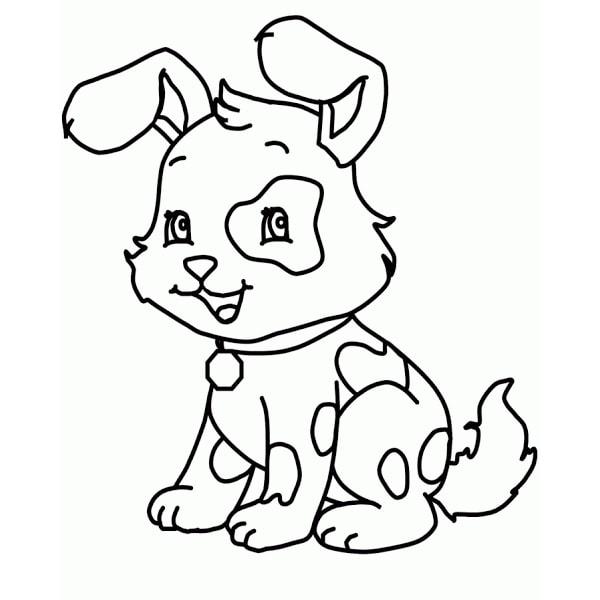 Bố sự tập 1000+ tranh tô màu con chó phát triển sáng tạo 39