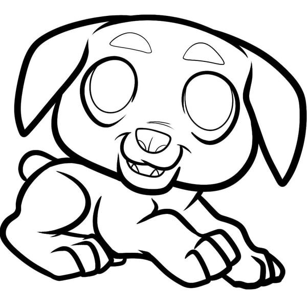 Bố sự tập 1000+ tranh tô màu con chó phát triển sáng tạo 40