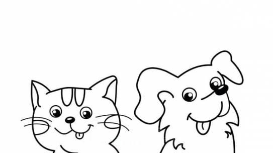 Bố sự tập 1000+ tranh tô màu con chó phát triển sáng tạo