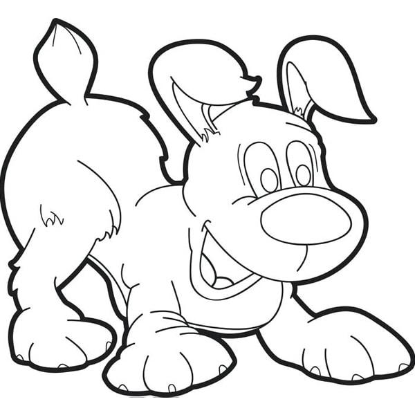 Bố sự tập 1000+ tranh tô màu con chó phát triển sáng tạo 43