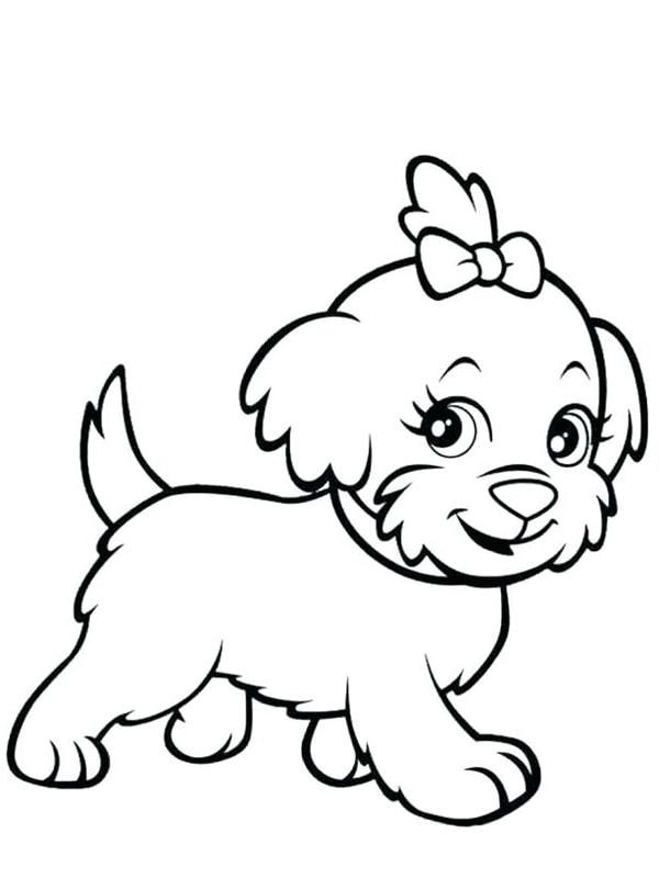 Bố sự tập 1000+ tranh tô màu con chó phát triển sáng tạo 45