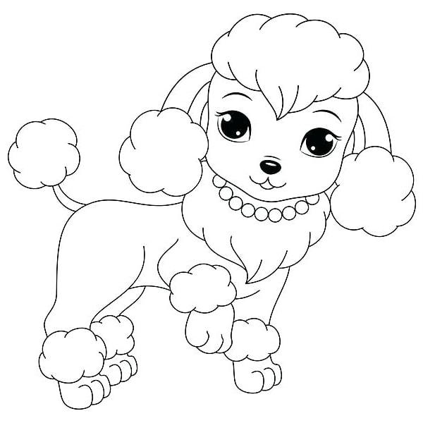 Bố sự tập 1000+ tranh tô màu con chó phát triển sáng tạo 51