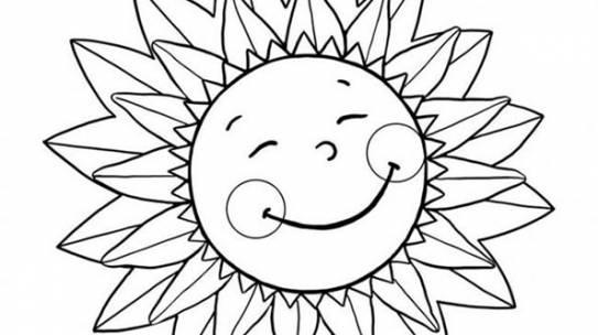 Bộ sưu tập tranh tô màu hoa hướng dương và biết ý nghĩa của hoa