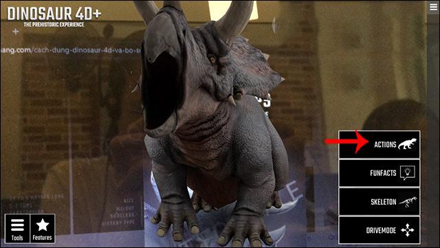 Hướng dẫn cách dùng Dinosaur 4D+ và tải trọn bộ sưu tập khủng long 4D 20