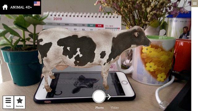 Tải Ứng dụng Animal 4D+ cho IOS 11