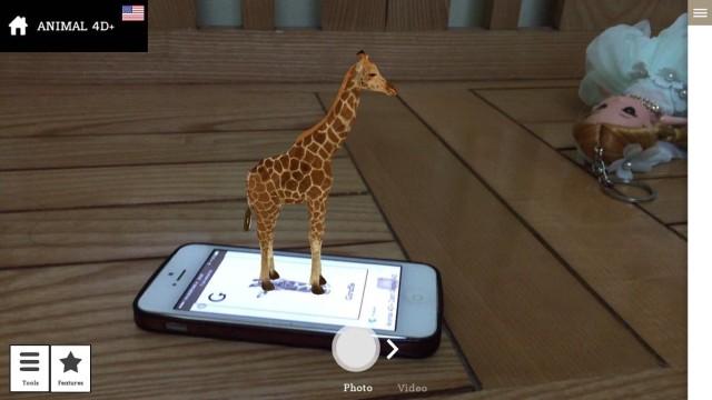 Tải Ứng dụng Animal 4D+ cho IOS 12