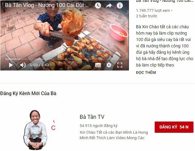 Bà Tân Vlog Youtube là ai ? 3
