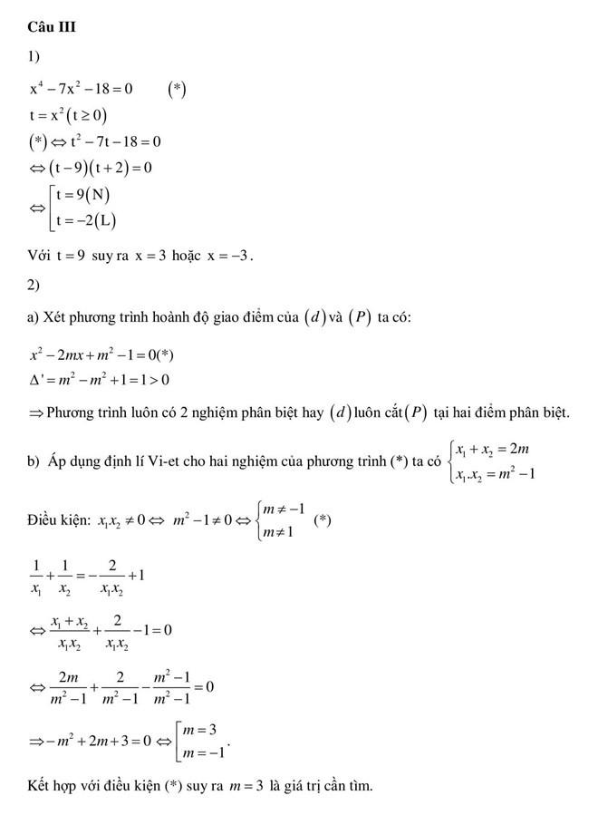 Đáp án đề thi tuyển sinh lớp 10 môn toán năm 2019 Hà Nội 19