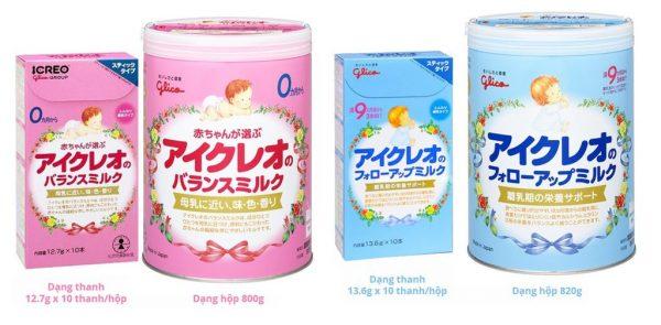 So sánh sữa Blackmores và Glico lên chọn loại sữa nào 5