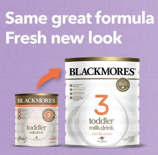 Cách phân biệt sữa Blackmores mẫu mới với mẫu cũ 7