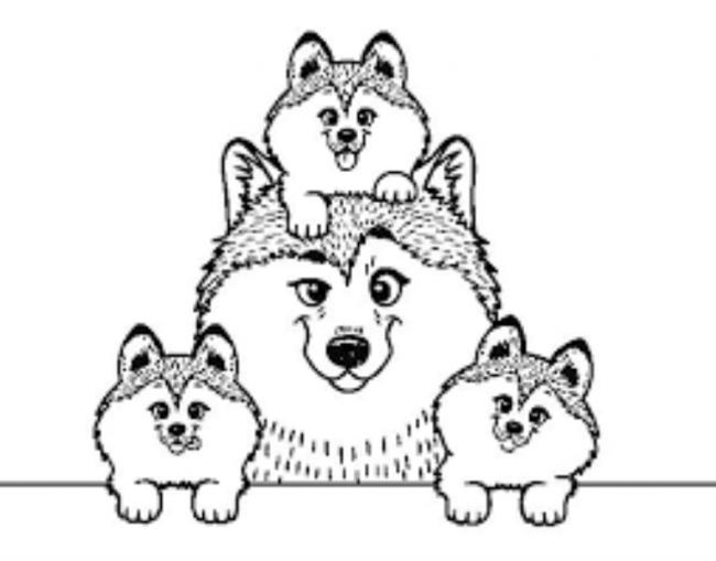 Bộ sưu tập tranh tô màu gia đình cho bé chủ đề gia đình hạnh phúc 9