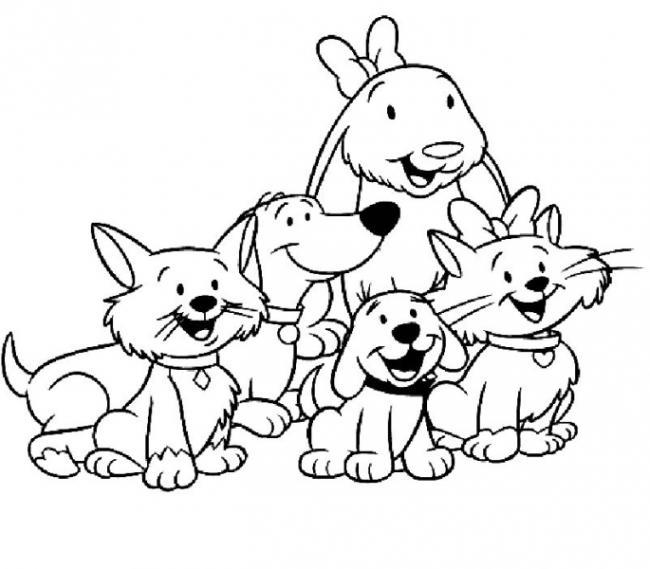 Bộ sưu tập tranh tô màu gia đình cho bé chủ đề gia đình hạnh phúc 4