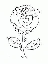 Download tranh tô màu hoa hồng cho bé được tải nhiều nhất 9