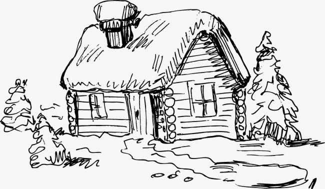 Bộ sưu tập tranh tô màu ngôi nhà cho bé tập tô 19