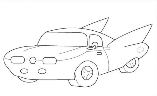 Download tranh tô màu xe ô tô cho bé đẹp nhất hiện nay 16