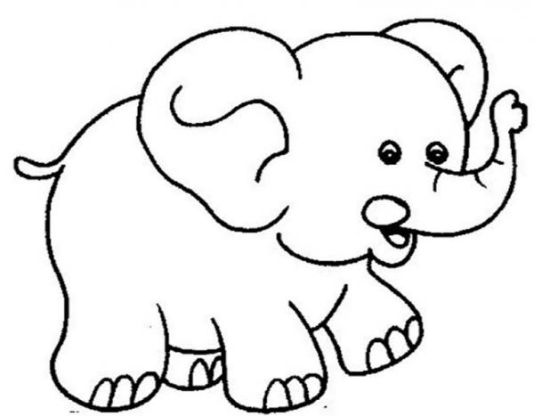 Bộ tranh tô màu con voi siêu ngộ nghĩnh 36