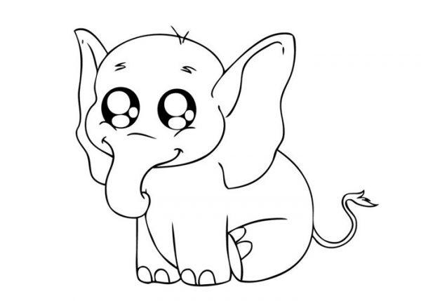 Bộ tranh tô màu con voi siêu ngộ nghĩnh 39