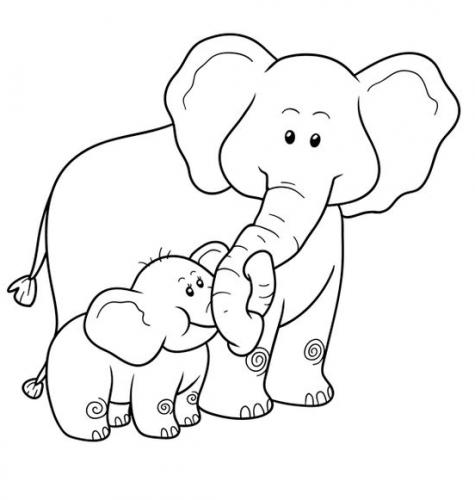 Bộ tranh tô màu con voi siêu ngộ nghĩnh 40