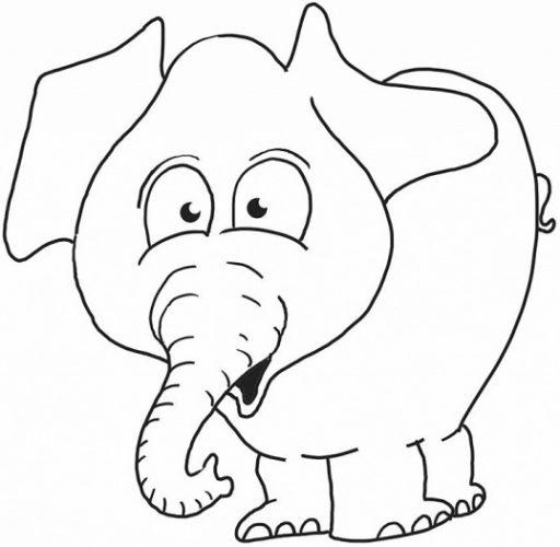 Bộ tranh tô màu con voi siêu ngộ nghĩnh 28