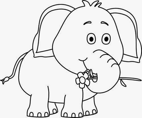 Bộ tranh tô màu con voi siêu ngộ nghĩnh 44