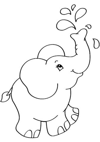 Bộ tranh tô màu con voi siêu ngộ nghĩnh 35