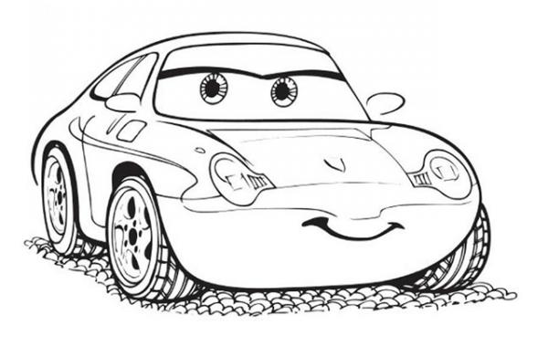 Download tranh tô màu xe ô tô cho bé đẹp nhất hiện nay 18
