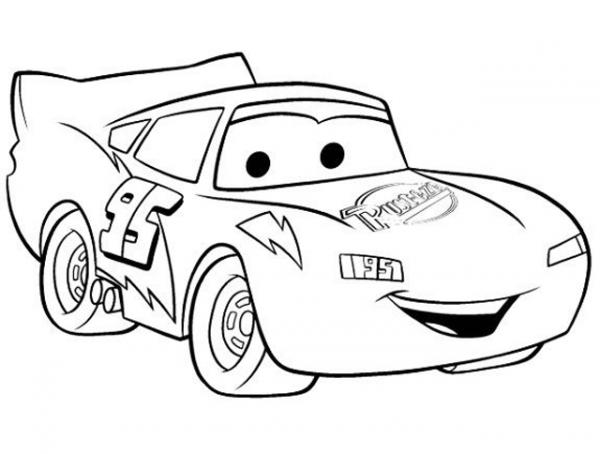 Download tranh tô màu xe ô tô cho bé đẹp nhất hiện nay 19
