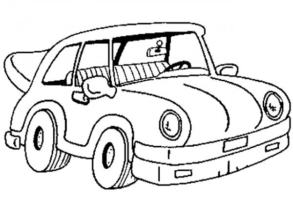 Download tranh tô màu xe ô tô cho bé đẹp nhất hiện nay 20