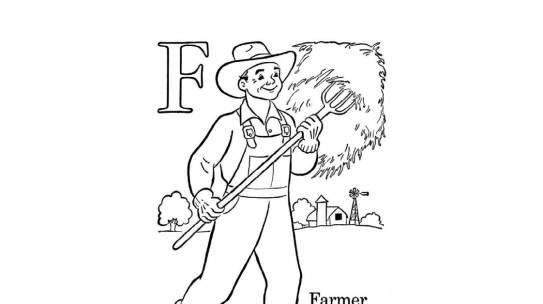Bộ sưu tập tranh tô màu bác nông dân đẹp nhất hiện nay